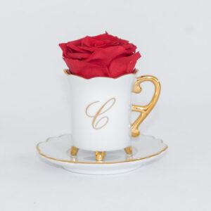 Xícara de Café Corações Personalizada 60ml