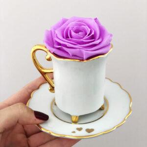 Xícara de Café Corações 60ml